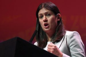 Labour leadership candidate Lisa Nandy at a hustings event in Glasgow (Picture: John Devlin)