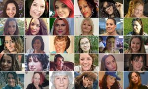 photos of the women killed by men in UK 2009-2018